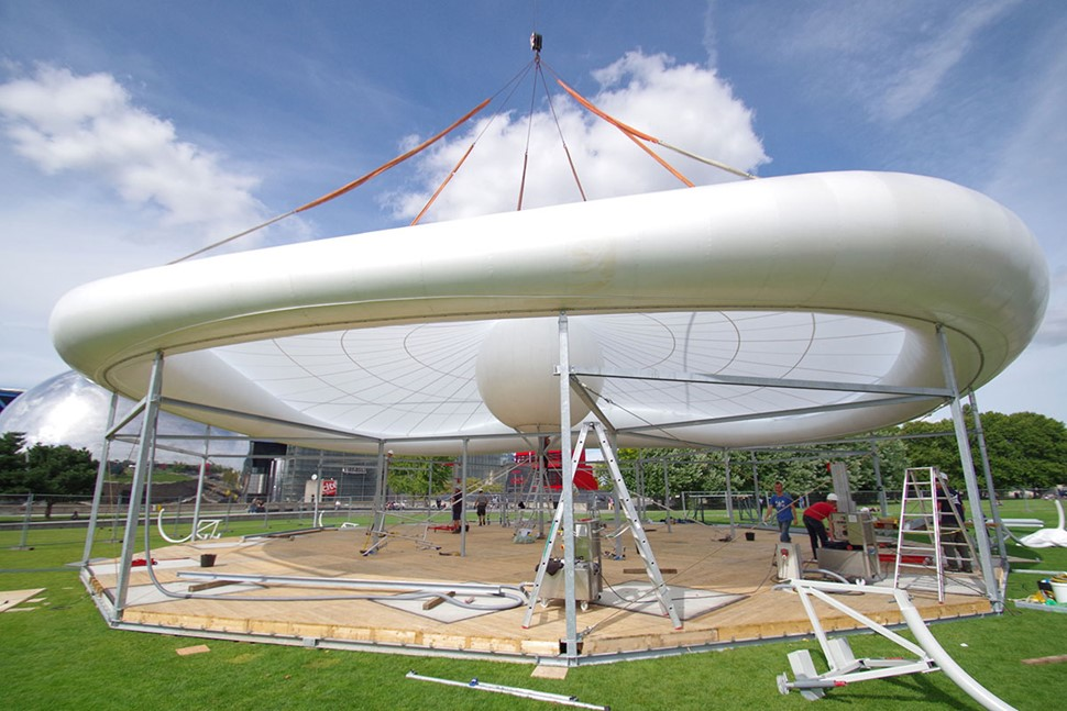 High Point - production and installation of inflatable structures
