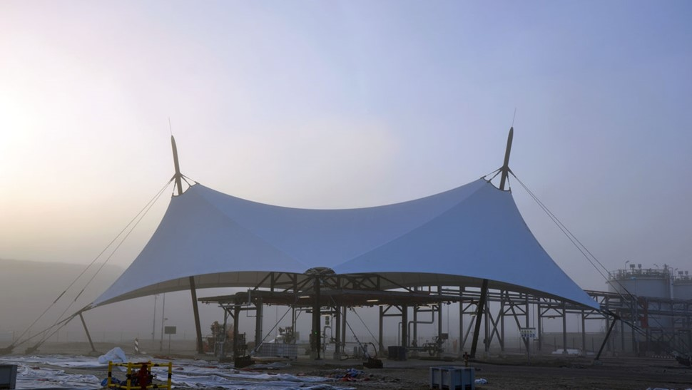 Under Stretch Structure With Large Spans